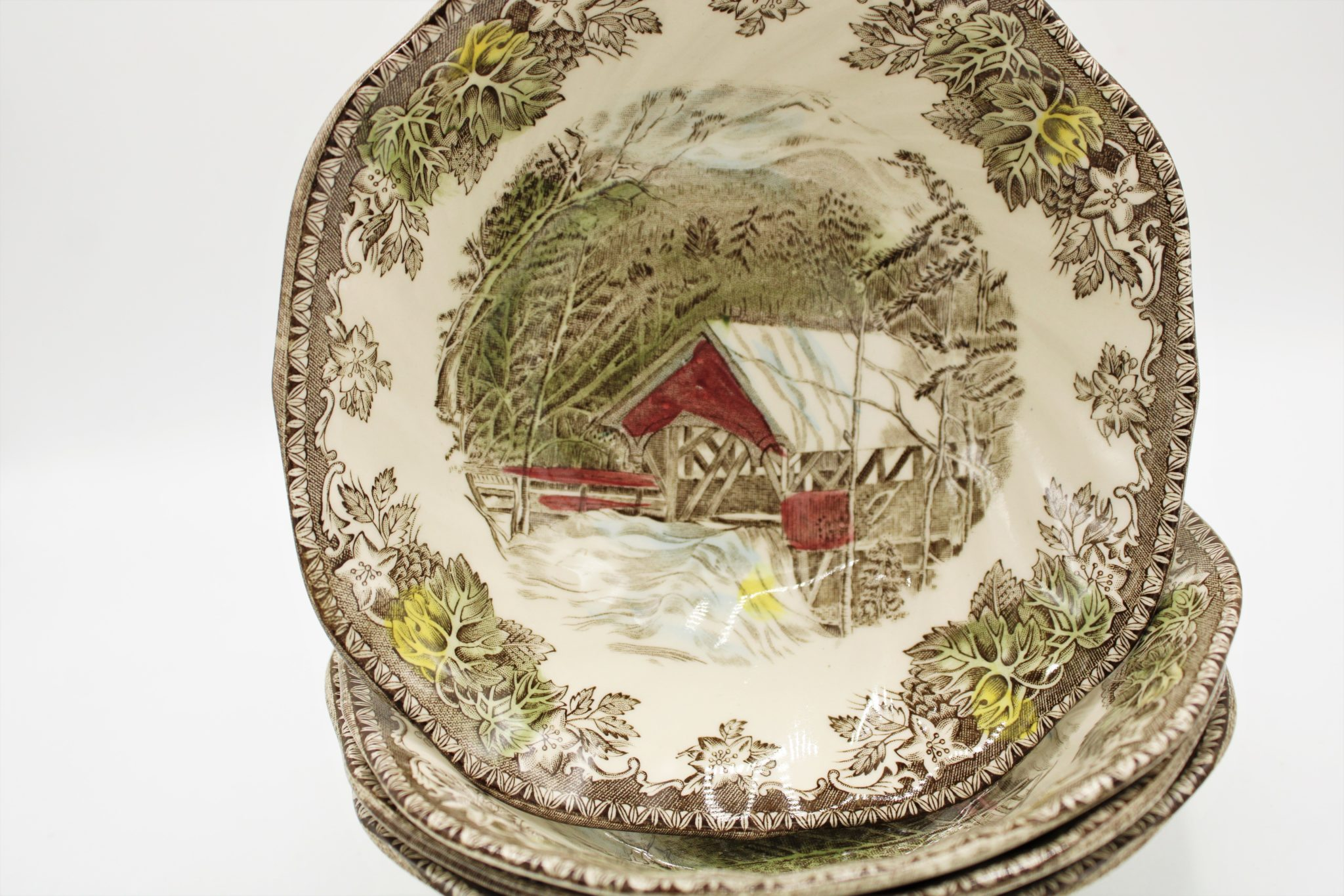 Johnson Brothers Whitehall Covered Bowl